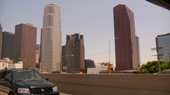 Los Angeles Highway Stock Footage