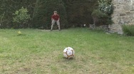 Stock Video Footage of Children playing penalty shootout (soocer)