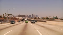 Highway Los Angeles Stock Footage