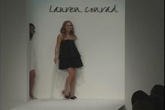 Lauren Conrad on Runway Stock Footage