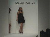 Lauren Conrad on Runway Stock Footage