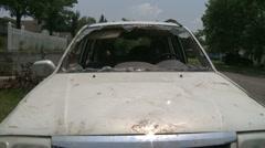 Vaurioitunut auto v.02 Arkistovideo