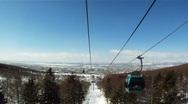 Ski lift 002 Stock Footage