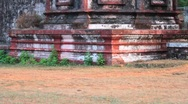 Old Indian Temple Stock Footage