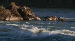 Mountain river 7 Stock Footage