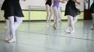 Stock Video Footage of Classic dancers training at school of ballet