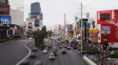 The Strip (Las Vegas Boulevard), Las Vegas Stock Footage