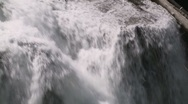 Stock Video Footage of Lower Lewis Falls 03