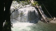 Stock Video Footage of Lower Lewis Falls 05