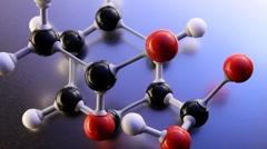 Drug molecule Stock Footage
