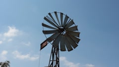 Wind Mill 4, Front angle Stock Footage