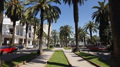 Boulevard in Casablanca, Morocco - T/lapse Stock Footage