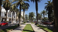 Stock Video Footage of Boulevard in Casablanca, Morocco - T/lapse