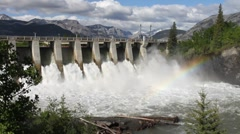 Hydro dam 12 pj Stock Footage