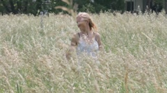 Women-grass-june28-2011 Stock Footage