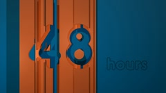 Hours 48 (HD) Stock Footage