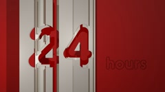 Hours 24 (HD) Stock Footage