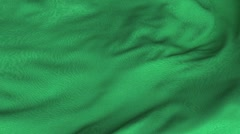 Seamless Waving Libyan Flag with Fabric Texture Stock Footage
