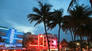 Stock Video Footage of Miami Beach