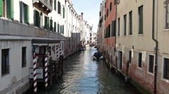 Venice canal police department P HD 1047 Stock Footage