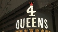 4 Queens Hotel Stock Footage