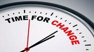 Timeforchange Stock Footage