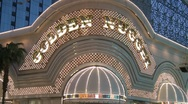 Stock Video Footage of Golden Nugget Casino