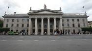 GPO Dublin City Centre Ireland Stock Footage