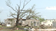 Stock Video Footage of Tornado Devastation in Neighborhood-15