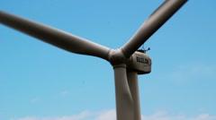 Closeup on Windmill - stock footage