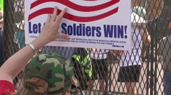 Protestors - Anti War, at the Republican National Convention 08' Stock Footage