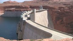 Glen Canyon Dam Stock Footage
