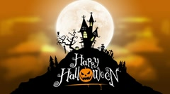 Halloween taustaa Loop Arkistovideo