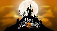 Halloween Background Loop Stock Footage