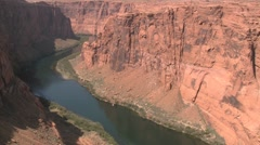 Colorado River Downstream Glen Canyon Dam Stock Footage