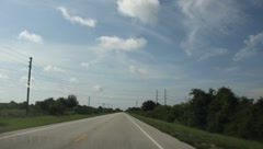 Driving through Florida In The Summer #10 Stock Footage