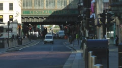 Argyle Street At Glasgow Central Station Scotland UK Stock Footage