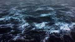 Monthly Discount Dark sea storm Stock Footage