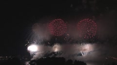 Fireworks extravaganza 11 Stock Footage