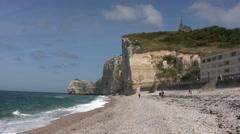 France - Normandy - Etretat Stock Footage