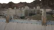 The Hoover Dam Stock Footage
