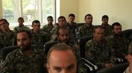 Afghan National Soldiers (HD)c Stock Footage