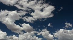 Cloud Stretch Time Lapse Stock Footage