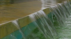 Water falling version 3 Stock Footage