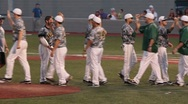 Stock Video Footage of Baseball Players High Five (HD)