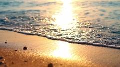 Sea waves 01 - stock footage