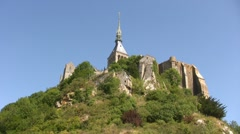 France - Mont Saint-Michel Stock Footage