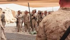 Marines (HD)c - stock footage