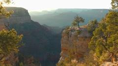 Sunset at Grand Canyon, Arizona, USA Stock Footage