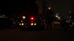 Police Checkpoint HD Stock Footage